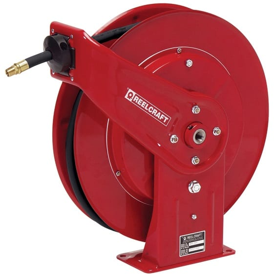 3//4 x 75 Reelcraft FD83075 OLP Spring Retractable Fuel Hose Reel 250 Psi Fuel Hose Included 3//4 x 75/'